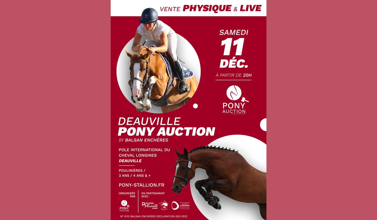 Pony auction vente Deauville